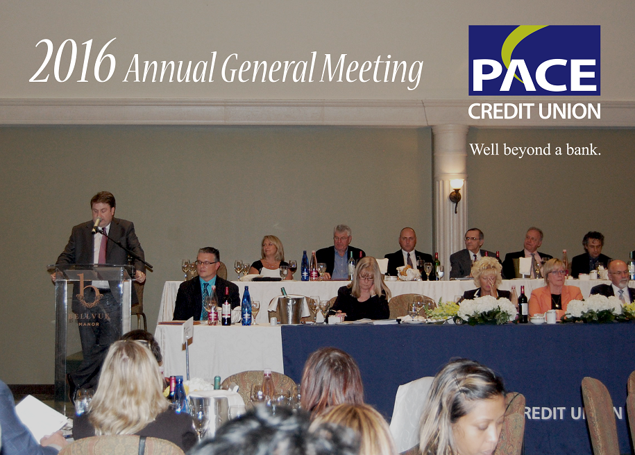 Phil Smith CEO of PACE speaking at AGM 2016
