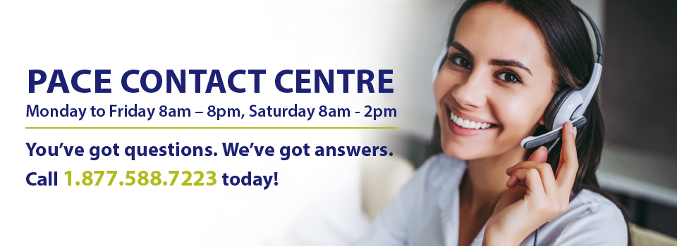 PACE Call Centre Information/Hours