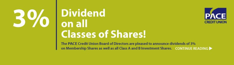 3% Dividend on all shares.